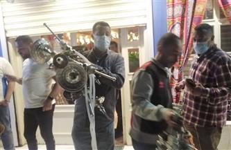 محافظة الجيزة تكثف حملاتها على الكافيهات والمقاهي لتطبيق الإجراءات الاحترازية |صور