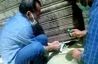 غلق 25 مقهى وورشة ومحلًا لمخالفة إجراءات كورونا وتحرير 182 مخالفة للمواطنين بالفيوم | صور