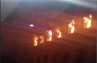 السيطرة على حريق داخل كنيسة مارمينا بالعمرانية