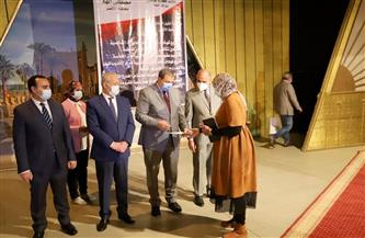 وزير القوى العاملة ومحافظ الأقصر يسلمان 205 متدربين شهادات إتمام التدريب بمركز الرضوانية | صور
