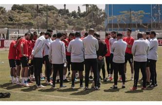 موسيماني يستعد لسيمبا بمحاضرة فيديو للاعبي الأهلي