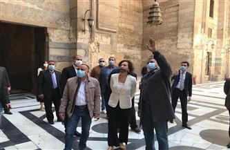 مدير عام منظمة اليونسكو تزور القاهرة التاريخية ومنطقتي آثار سقارة وأهرامات الجيزة |صور