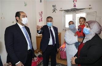 محافظ المنوفية يصرف 70 ألف جنيه لإحدى دور رعاية الأطفال الأيتام في «هورين»   صور