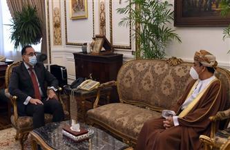 رئيس الوزراء يلتقي بسفير سلطنة عمان الجديد لدى مصر