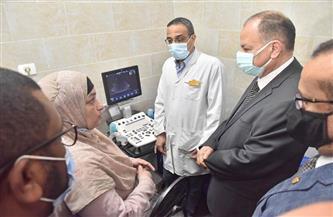 محافظ أسيوط يفتتح وحدة علاج أورام الثدي في المستشفى العام| صور