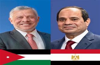 الرئيس السيسي يجري اتصالا هاتفيا مع الملك عبدالله الثاني للاطمئنان على استقرار الأوضاع في الأردن