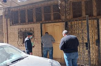 غلق وتشميع 6 ورش ملابس جاهزة داخل عقارات في بولاق الدكرور  صور