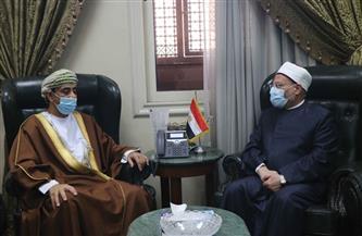 مفتي الجمهورية يستقبل سفير عُمان لبحث تعزيز التعاون الإفتائي مع السلطنة