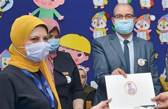 افتتاح قاعة الشهيد عمرو السقا بمدرسة يوسف عاشور الابتدائية ببورسعيد |صور