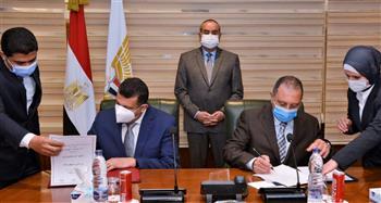 تعاون بين الطاقة الذرية والقابضة للمطارات ومصر للطيران للتخلص الآمن من النفايات الإشعاعية
