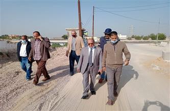 رئيس مياه الإسكندرية يتابع عمليات الإحلال والتجديد لخطوط المياه  صور