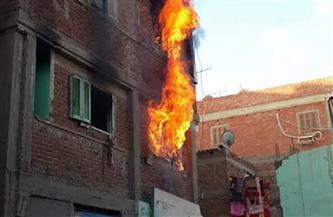 مصرع مواطن وإصابة آخرين في حريق داخل منزل بكفر الزيات بالغربية