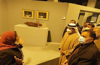 سفير الإمارات في متحف السكة الحديد قبل توجهه للأقصر| صور