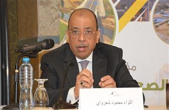 """وزراء """"التنمية المحلية والبيئة والإنتاج الحربي"""" ورئيس """"العربية للتصنيع"""" يفتتحون المحطة الوسطية لنقل المخلفات"""