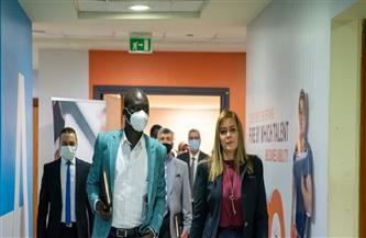 مدير الأكاديمية الوطنية تستقبل وزير الشباب بجنوب السودان | صور