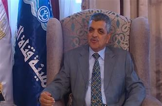 """رئيس هيئة قناة السويس يكشف موعد وصول الكراكة """"مهاب مميش"""" إلى غاطس بورسعيد"""