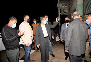 تحرير 40 مخالفة وغلق 7 محال في حملة ليلية لمحافظ الغربية