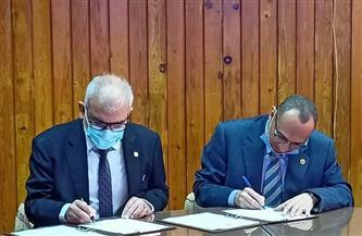 اتفاقية تعاون بين الهندسة الإلكترونية ووكالة الفضاء المصرية في مجال الأقمار الصناعية | صور