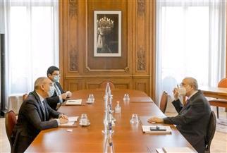 سفير مصر في باريس يلتقي سكرتير عام منظمة التعاون الاقتصادي والتنمية  صور