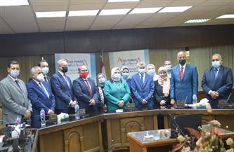 توقيع اتفاقيات مشروع إنشاء محطة لإنتاج الكهرباء من الطاقة الشمسية في أسوان باستثمارات 80 مليون دولار | صور