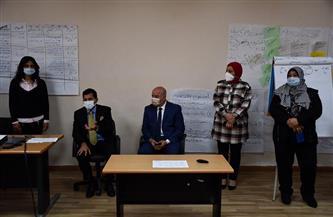 وزير الشباب يشهد فعاليات دورة صقل مدربي ريادة الأعمال | صور