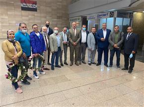 وزير الرياضة يهنئ المنتخب المصري للمصارعة بعد تأهل 8 لاعبين لأوليمبياد طوكيو