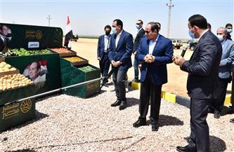 ننشر تفاصيل جولة الرئيس السيسي في مشروع «مستقبل مصر»