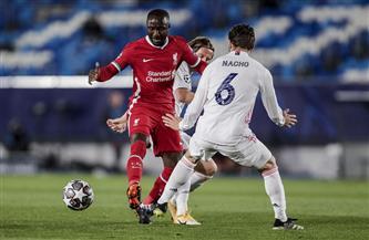 أسينسيو يٌضيف الهدف الثاني لريال مدريد في شباك ليفربول