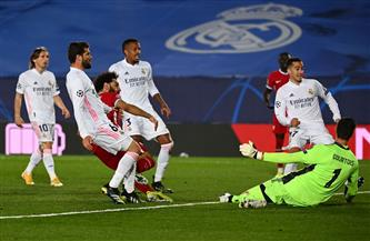 ريال مدريد يضع قدما فى نصف النهائى بعد الفوز على ليفربول بثلاثية فى دورى الأبطال | صور