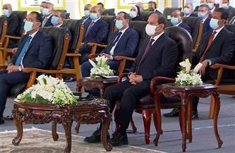 الرئيس السيسي يشاهد فيلما تسجيليا لتوثيق العمل داخل محاكم مصر الجديدة