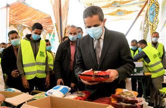 تعبئة 7 آلاف كرتونة سلع ضمن حملة إفطار صائم بالغربية | صور