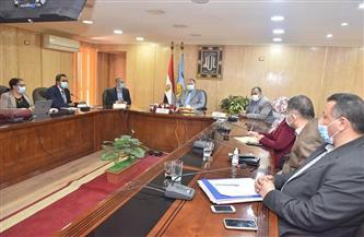 محافظ أسيوط يستقبل وفد برنامج التنمية المحلية لصعيد مصر| صور