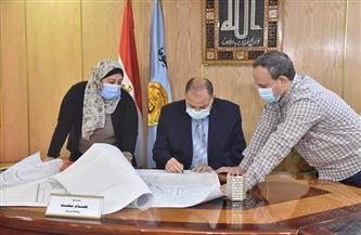 محافظ أسيوط يعتمد خرائط المخطط الإستراتيجي لمدينة القوصية| صور