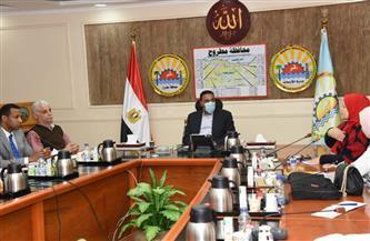 لجنة ترويج المشروعات تناقش الفرص الاستثمارية بمطروح| صور