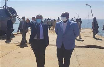 وفد مصري في مجال الموانئ والملاحة النهرية يزور مدينة وادي حلفا السودانية| صور