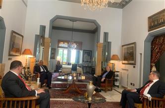 وزير الخارجية يلتقى وليد جنبلاط رئيس الحزب التقدمي الاشتراكي في لبنان