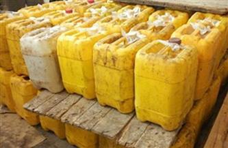 تموين المنوفية: ضبط مصنع لتعبئة زيت الطعام بأشمون وتحرير157 محضرًا