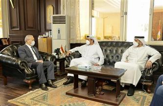 محافظ الأقصر يلتقي سفير الإمارات لدى مصر| صور