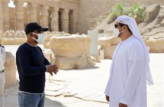 سفير الإمارات: الأقصر أكبر متحف مفتوح في العالم.. وأدعو سياح العالم لزيارتها| صور