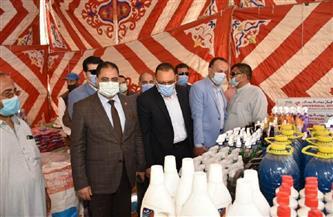 الانتهاء من جاهزية معارض «أهلًا رمضان» بمراكز ومدن الشرقية| صور