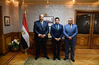 وزير الرياضة يستقبل رئيس نادي الاتحاد السكندري