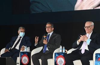 جامعة عين شمس تحتفي بموكب المومياوات الملكية بمؤتمرها العلمي التاسع| صور