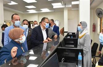 افتتاح مركز خدمة المواطنين للبطاقات التموينية بمنشأة أبو عمر بالشرقية