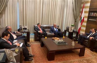 وزير الخارجية يختتم زيارته للبنان بلقاء سعد الحريرى| صور