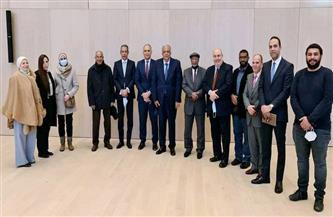 مندوب مصر الدائم لدى الأمم المتحدة بجنيف يلتقى أمين اتحاد الجاليات المصرية فى أوروبا