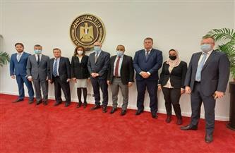 التعاون الدولي تبحث ترتيبات انعقاد الدورة الثامنة للجنة المشتركة المصرية الأوكرانية