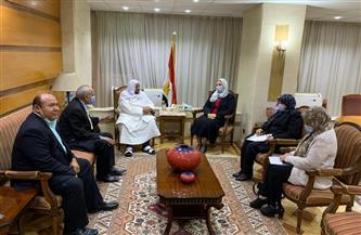 وزيرة التضامن الاجتماعي تستقبل الأمين العام للمجلس الإسلامي العالمي للدعوة والإغاثة