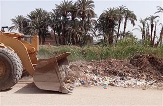 رفع 165 طن مخلفات وقمامة بمراكز الغنايم والقوصية والبداري بأسيوط | صور