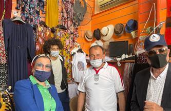 وزيرة البيئة ومحافظ جنوب سيناء يعلنان 2021 عام مدينة دهب | صور