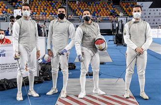 منتخب الشباب والشابات لسلاح الشيش يودعون منافسات الفرق من دور الـ16ببطولة العالم | صور